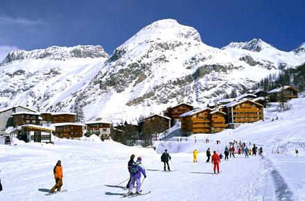 La Folie Douce in Val d'Isère - Frankreich