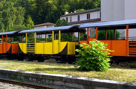 Train à vapeur dans les Cévennes