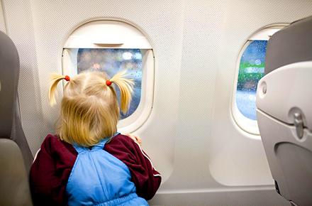 Die kleinen  Flugpassagiere