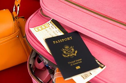 Regelungen für die Reise ins Ausland