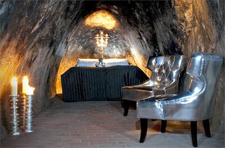 Deepest suite: The Mine Suite, Sala Silvermine, Sala, Sweden