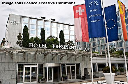 Most expensive suite: Royal Penthouse Suite, Hotel President Wilson, Geneva
