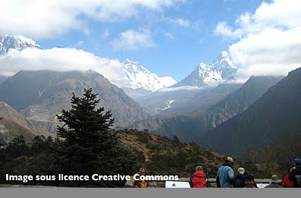 Highest altitude: Hotel Everest View, Namche, Nepal