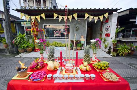 Vegetarian Festival, Phuket, Indonesia