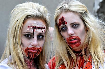 Zombie Walk, Toronto, Canada