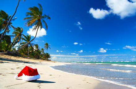 Heiligabend unter der Sonne der französischen Antillen