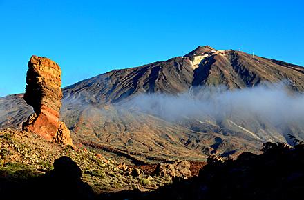 Weihnachten am Fuße des Vulkans auf Teneriffa