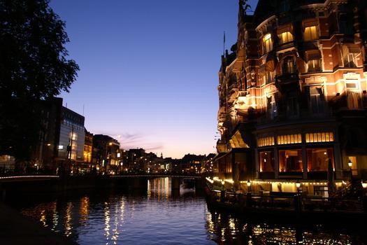 Lungo i canali di Amsterdam