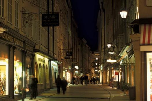 Vienna sotto le luci