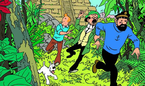 L'America latina di Tintin