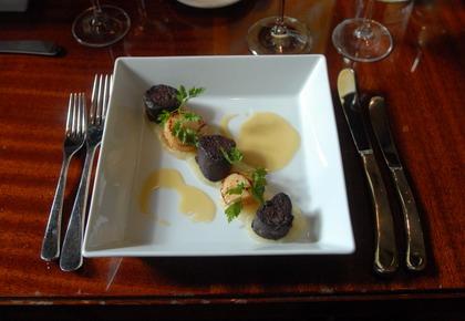 The Brasserie Roux of the Saint-James Sofitel (London)