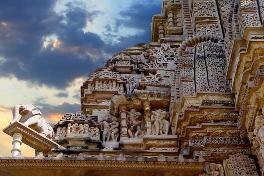 The erotic temples of Khajuraho, India