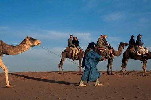Sleep in the Sahara