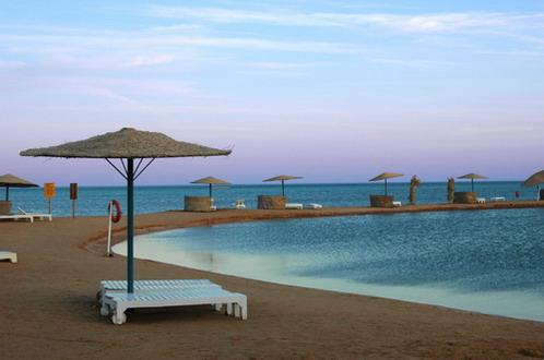 Relax alongside a pool in Egypt