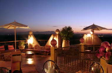 The Kasbah Mirage of Marrakech, Morocco