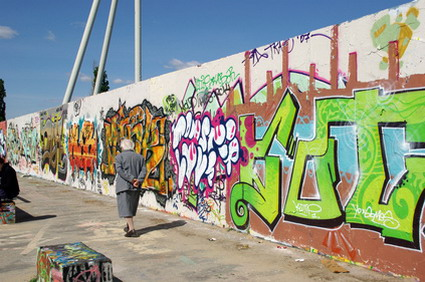 The artist, East Berlin