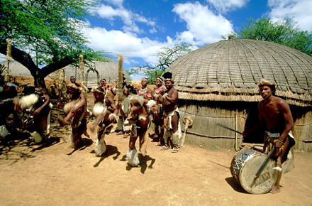 South Africa: the land of the Zulu people