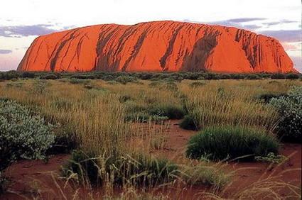 Off into the Australian desert