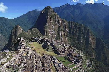 Up on the roof of Peru