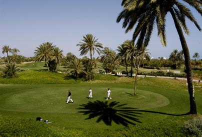 Golfing Tunisia