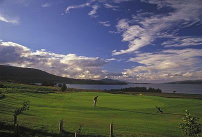 Scotland, the home of golf