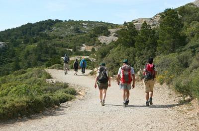 Hiking on a big scale