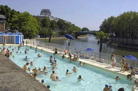 Paris: a beach with a view
