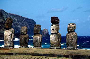 The Easter Island Statues