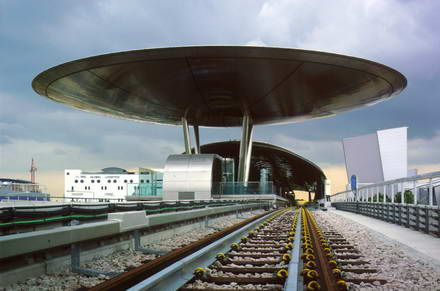 Expo station singapore around the world with norman foster for Norman foster strutture