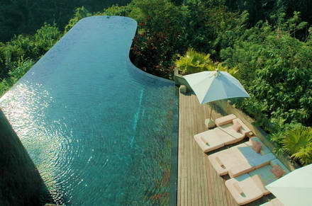 au hanging gardens bali remarquables piscines avec vue. Black Bedroom Furniture Sets. Home Design Ideas