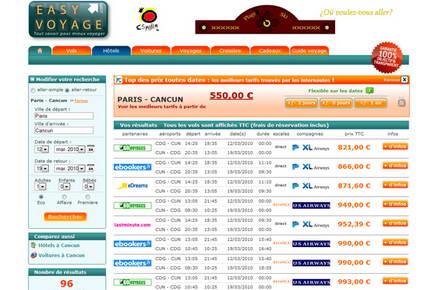 Les comparateurs de prix internet la r volution du voyage for Comparateur hotel paris prix