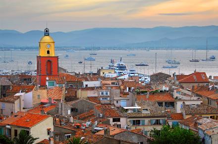 St Tropez: French Riviera chic