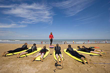 Newquay: sweeping beaches and pounding surf