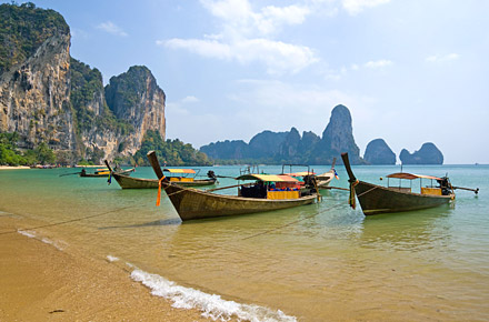 Thailand's number one beaches.