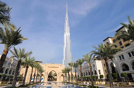 Dubai, Manhattan of the Middle East.