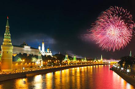 MOSKAU - New Year's Swanky Toast