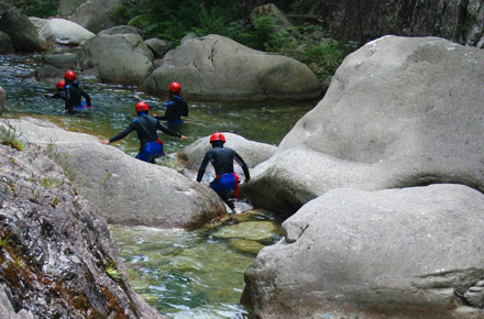 Canyoning in Corsica e alle Antille