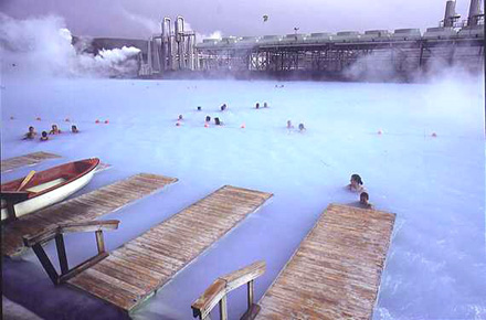 Le sorgenti calde in Islanda, in Giappone e a Taiwan