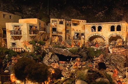 El Paés dei Presepi e la magia del Natale a Miola di Piné, in Trentino