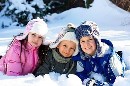 Winterurlaub mit Kindern