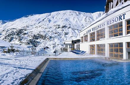 Tirol hochfirst alpen wellness resort 10 fantastische for Design hotel tirol wellness
