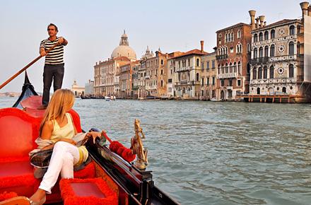 Venedig - Heiratsantrag unter der Rialtobrücke