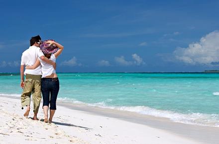 Malediven - Strandurlaub für Verliebte