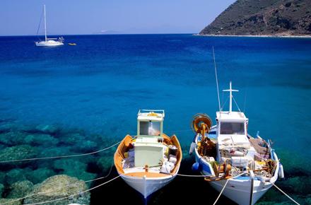 Rhodes et Corfou : deux îles Grecques en vogue
