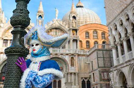 Märchenhafte Masken in Venedig