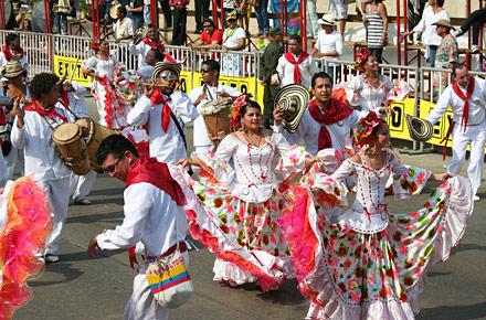 So feiert die Karibik - Karneval in Barranquilla