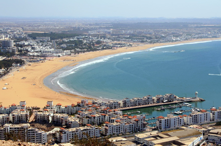 Agadir : star de la côte marocaine