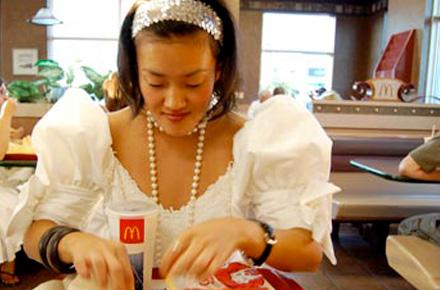 The fast-food junkie, Hong Kong