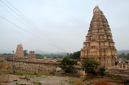 Hampi empire ruins, India