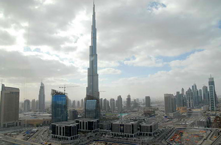 On top of the world in Dubai, UAE
